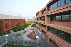 Galería de Nueva Escuela Primaria de Nueva Taihu / MINAX - 1