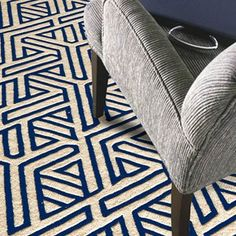 Delhi rugs DL48 by Momeni in Blue - Free UK Delivery - The Rug Seller