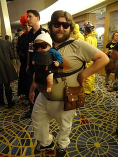 Alan #Cosplay from The Hangover