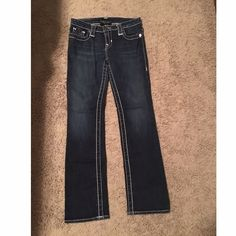 Big Star 'Miki' jeans - 27 regular Big Star 'Miki' jeans, size 27 regular - have not been altered. Straight leg fit. **No trades. No PayPal. Yes to bundles. WILL ONLY USE 'OFFER TOOL' FOR NEGOTIATIONS / OFFERS.** Big Star Jeans Straight Leg