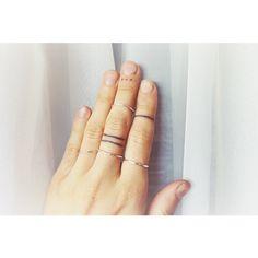 finger tattoos | Tumblr