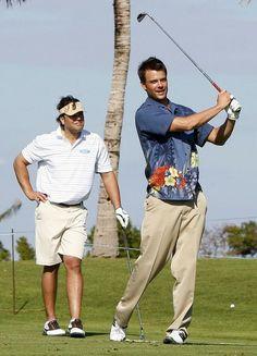51d35fce32a Josh Duhamel in Michael Jordan Celebrity Golf Invitational In The Bahamas