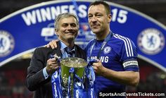 Mastermind Jose Mourinho and Captain John Terry Football Updates, Most Popular Sports, Capital One, Stamford Bridge, Chelsea, Mens Sunglasses, Baseball Cards, Club, Signs