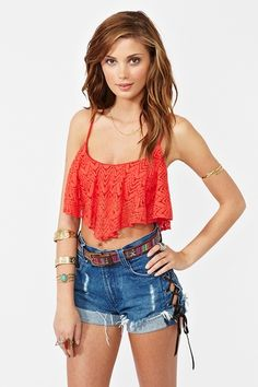 diggin the top. if it were the top ruffle on a dress that would be awesome too