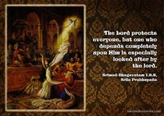 Srila Prabhupada on Lord's Protection Krishna Lila, Shree Krishna, Radhe Krishna, Radha Krishna Love Quotes, Lord Krishna Images, Spiritual Thoughts, Spiritual Quotes, Faith In God Quotes, Protection Quotes