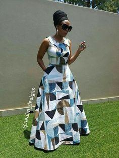 I really like latest african fashion look Latest African Fashion Dresses, African Print Dresses, African Dresses For Women, African Attire, African Wear, African Women, African Prints, African Style, Ankara Fashion