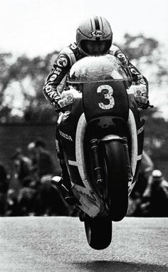 Joey Dunlop. Isle of Man