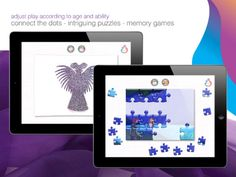 """Connect the dots and puzzle from """"The Swan Lake"""" Interactive Stories, More Games, Connect The Dots, Itunes, Connection, Swan Lake, Memories, Lettering, Activities"""