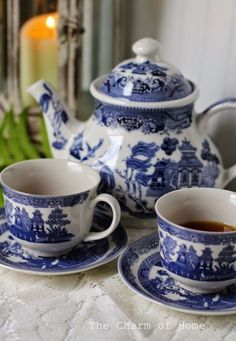 The Legend of Blue Willow China: The Charm of Home