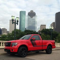 new  Red  #Ford #F150 #FX4 #Tremor
