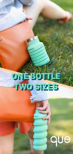 Collapsible and fashionable, que Bottle is perfect for your summer travel! Best water bottle ever Que Bottle, Most Famous Memes, Things To Buy, Things I Want, Just In Case, Just For You, Materiel Camping, Diy Cadeau, Accessoires Iphone