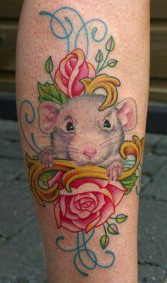 Dumbo rat tattoo                                                                                                                                                                                 Plus
