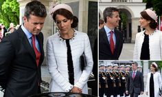 Crown Princess Mary of Denmark stylish at royal visit in Poland