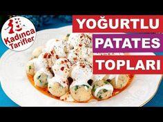 Yoğurtlu Patates Topları Tarifi Nasıl Yapılır | Meze Tarifleri | Kadınca Tarifler - YouTube