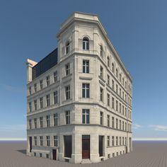 3D Berlin House Frankfurter Apartment - 3D Model