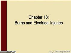 ch18  by rprue via authorSTREAM Power Points, Burns, Presentation, Education, Onderwijs, Learning, Electrical Outlets