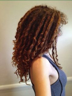 Curly dreads! This is what I want my dreads to turn out like! -Google Search