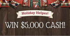 Win a $5,000 Holiday Helper
