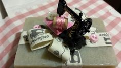 Argilla soap with sewing  machine by Atelier Cristina Paganelli