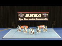 Calhoun High School Competitive Cheerleading November 5, 2016 - YouTube
