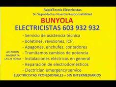 Electricistas BUNYOLA 603 932 932 Baratos