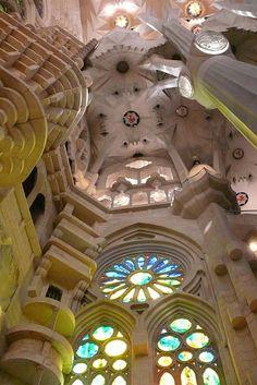 Basílica de la Sagrada Familia, Barcelona, Catalonia