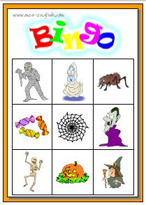 Halloween Bingo Halloween Bingo Cards, Halloween Food For Party, Cute Halloween, Halloween Themes, Bingo Games For Kids, Activities For Kids, Preschool Ideas, Craft Ideas, Extreme Couponing