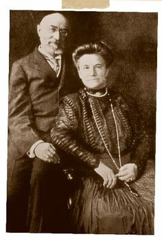 "Isidor and Ida Straus perished during the sinking of the Titanic. On the night of the disaster, as the call to board the lifeboats went out, Isidor escorted Ida to Lifeboat 8 and prepared to say goodbye to her. Ida, however, refused to enter the small boat, saying, ""We have lived together for many years. Where you go, I go.""  The Strauses were last seen seated side by side on Titanic's Boat Deck."
