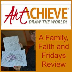 Family, Faith, and Fridays: ArtAchieve Fun and Homeschool Review Crew Review