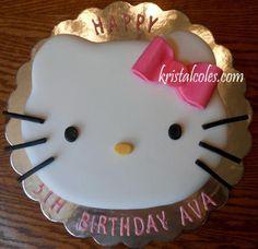 Hello Kitty Cake 1 - kristalcoles.com