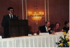 Dr. David Carnrike speaks at a graduation dinner in Mobile, Al