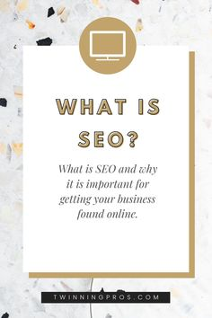 Are you wondering what SEO is and how it is important to your business? Check out our guide to see how you can get your business found online! #seo #digitalmarketing #bossbabe #businesstips Digital Marketing Strategy, Facebook Marketing, Marketing Tools, Business Checks, Business Tips, Online Business, Seo Optimization, Search Engine Optimization, Seo Basics
