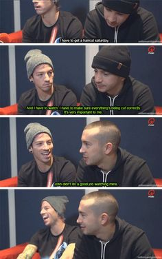 Image result for twenty one pilots funny pictures