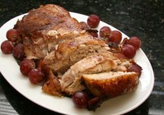 This is a top-rated, well-seasoned slow cooker pork roast with a slightly sweet spiced glaze. The recipe is made with a boneless pork loin roast, brown sugar, and spices.