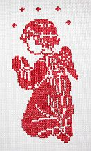 Easter bunny, cross stitch patterns and charts free - www.free-cross-stitch.rucniprace.cz
