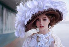 Portrait practice, Mandy Jurgens on ArtStation at https://www.artstation.com/artwork/portrait-practice-132