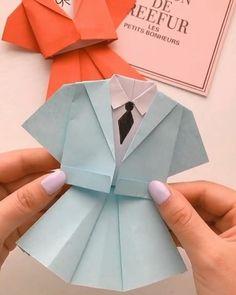 Eeeeeey ymrch goyin Paper Crafts Origami, Paper Crafts For Kids, Diy Paper, Diy For Kids, Paper Art, Diy Crafts Hacks, Diy Crafts For Gifts, Creative Crafts, Instruções Origami