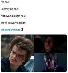 "Literally Just 65 Hilarious Memes About ""Stranger Things"" Season 3 - Season Dress Stranger Things Have Happened, Stranger Danger, Stranger Things Aesthetic, Stranger Things Season 3, Stranger Things Funny, Stranger Things Netflix, Stranger Things Spoilers, Stranger Things Steve, Saints Memes"