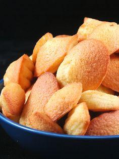 Madeleines au citron - Recette de cuisine Marmiton : une recette