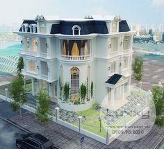 Thiết kế Biệt Thự Tân Cổ Điển tuyệt đẹp trên sườn núi Ocean View, thành phố Nha Trang
