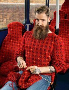 Caméléon knitting ^^