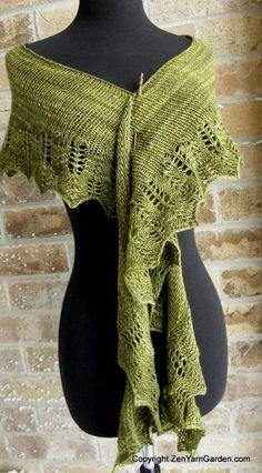 Mezquita Shawl - free knitting pattern
