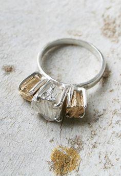 macha jewelry-14k Gold Jagger Ring
