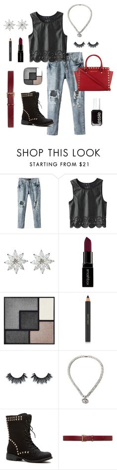 """Diamond In the Rough"" by amritasinghjewelry on Polyvore featuring Smashbox, Yves Saint Laurent, Estée Lauder, Lauren Ralph Lauren, Essie, women's clothing, women's fashion, women, female and woman"
