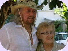 Barry and Barbara Gibb