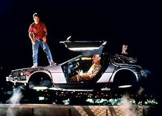 "Flying car in ""Back to the Future"""