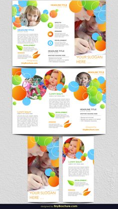 Brochure Templates Word - New Site Brochure Layout, Brochure Design, Brochure Template, Flyer Design, Childhood Education, Kids Education, Print Layout, Layout Design, Child Development Activities
