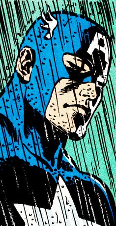 """It doesn't mean anything to them, thinks the soldier. To them, it's just a piece of cloth."" Cap - Frank Miller"