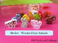My Review of the Hape Wooden Farm Animals