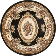 Give a majestic appeal to your dwelling with this Well Woven Timeless Le Petit Palais Traditional Medallion Green Area Rug. Jewel Tone Colors, Jewel Tones, Classic Rugs, Round Area Rugs, Area Rug Sizes, Brown Rug, Power Loom, Beige Area Rugs, Traditional Design